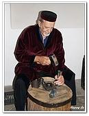96捷克-塔拉小鎮:A76163283鑄幣師傅示範-銀幣博物館-塔拉小鎮