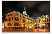 104拉脫維亞:A10409210584市政廳廣場夜景-里加-拉脫維亞.jpg