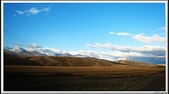 2009 絲路 新疆:清晨巴音布魯克路上 風景