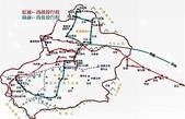2009 絲路 新疆:新疆行程 路線圖
