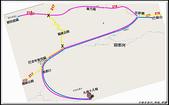 2009 絲路 新疆:那拉提往巴音布魯克地圖