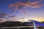 天鵝前『夕』。陽光橋: