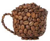 烘焙豆:豆子咖啡杯