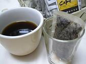 麻袋生豆:沖泡後+咖啡杯1.JPG