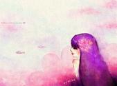 女孩:紫色女孩