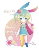 女孩:可愛ㄉ兔兔女孩