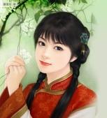 可愛女孩:中國女孩