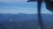 台北到台東的班機上:雪霸聖稜雪景2