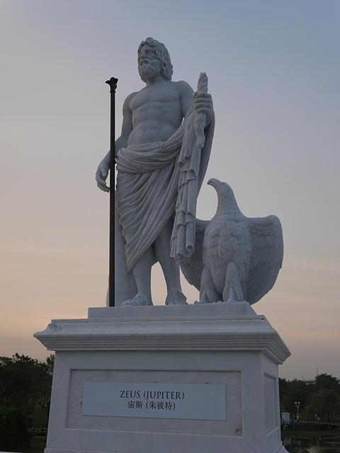 09奇美博物館 雕像 宙斯:朱彼特.jpg - 奇美博物館