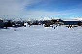 滑雪勝地惠斯勒:綿延不絕的雪山連峰