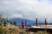 寶雲島迦納山(Mt Gardner of Bowen Island):在山頂觀景台等待雲霧空隙賞景