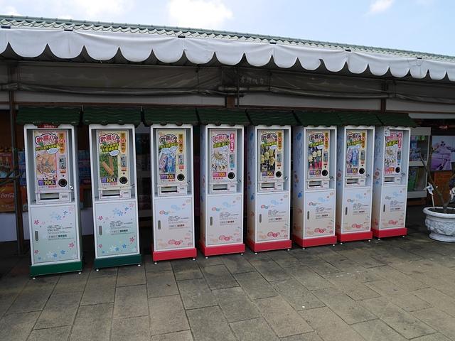 11整排的販賣機.jpg - 北門水晶教堂