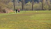 本拿比湖公園(Burnaby Lake Regional Park):07散步兼蹓狗的女孩.jpg