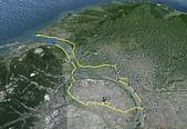 淡水河左右岸單車行:航跡圖.jpg