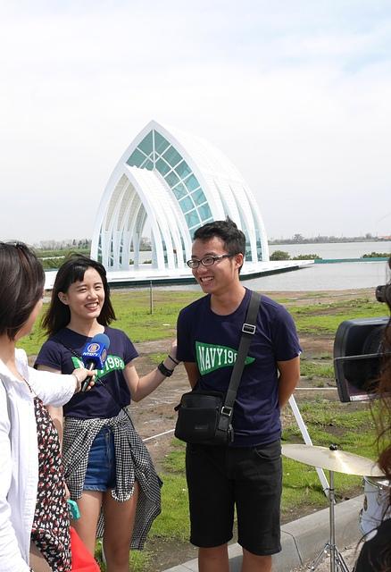 44水晶教堂電視採訪2.jpg - 北門水晶教堂