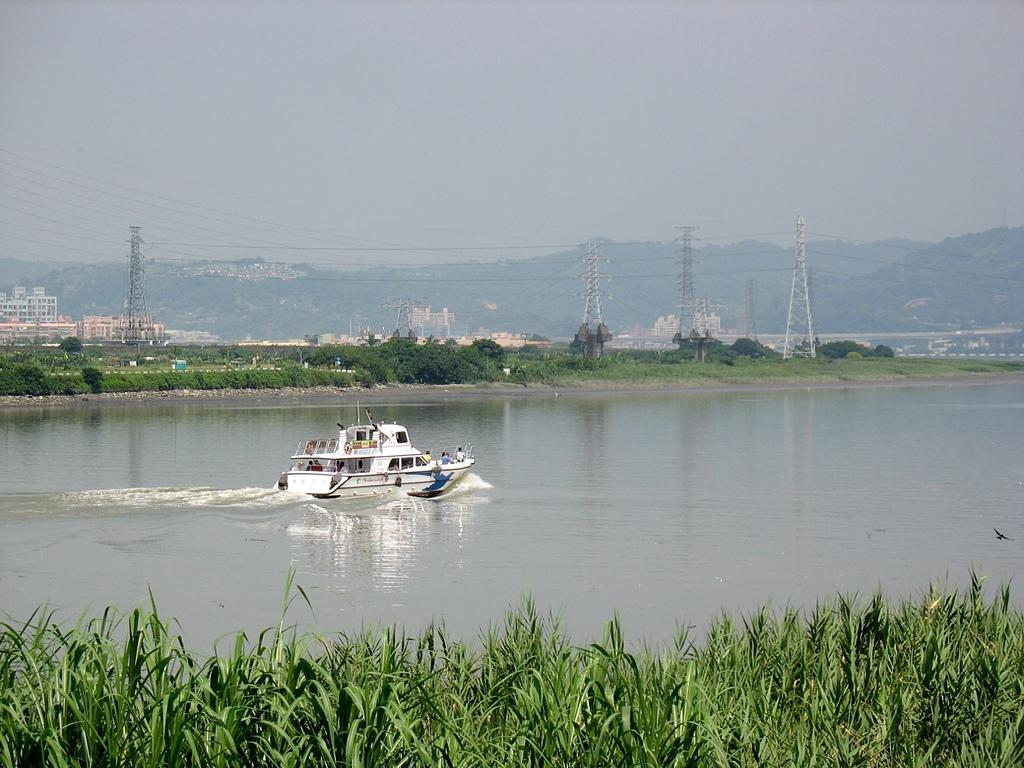 社子島基隆河單車行:藍色公路--台航1號