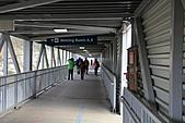 寶雲島迦納山(Mt Gardner of Bowen Island):登船的空橋長廊