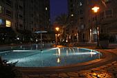 西班牙水花園夜拍:兒童戲水池