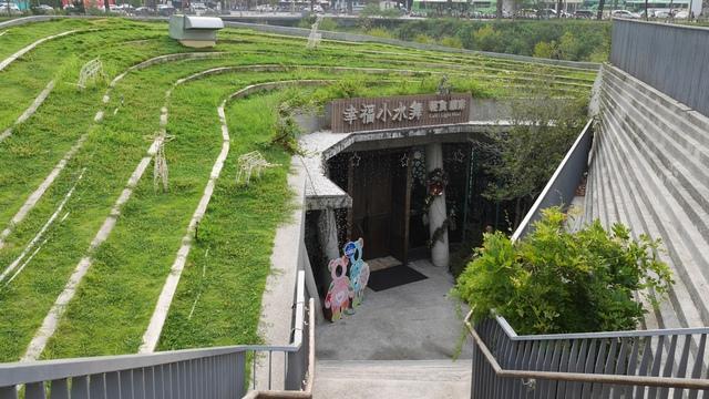 12幸福小水舞餐廳入口.jpg - 台中秋紅谷