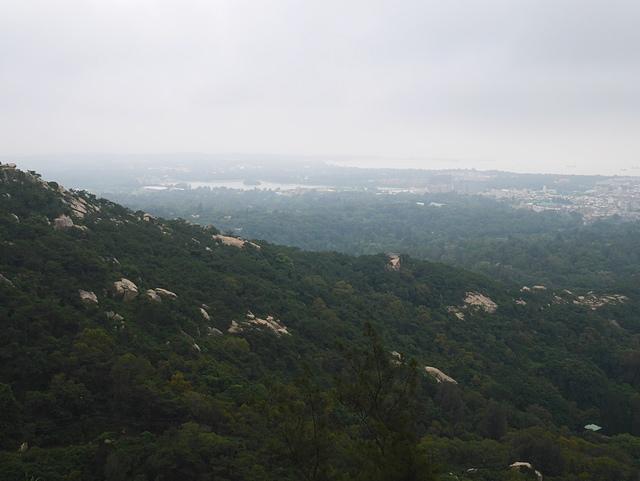 鳥瞰金門2 - 金門太武山