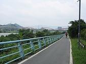 台北河濱公園單車道:新店溪左岸05快到永福橋了.jpg