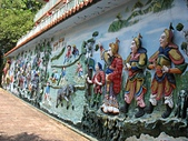 內湖三尖:三尖11碧山巖浮雕壁畫