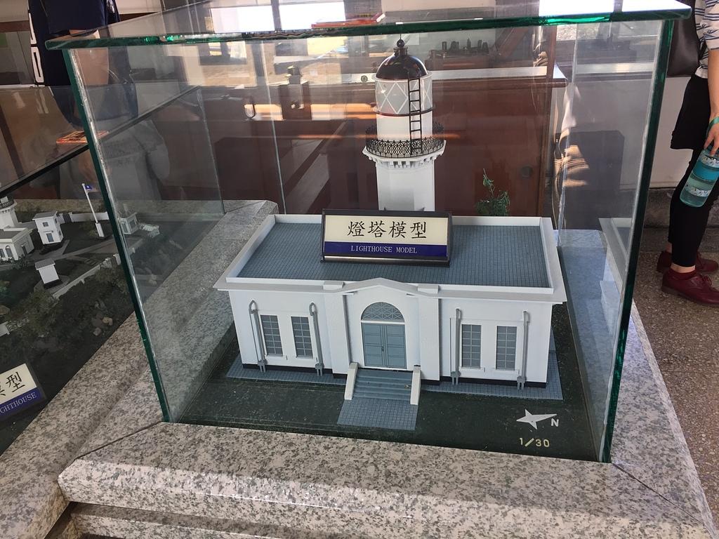 45高雄燈塔模型2.jpg - 旗津海岸公園 旗後砲台 高雄燈塔