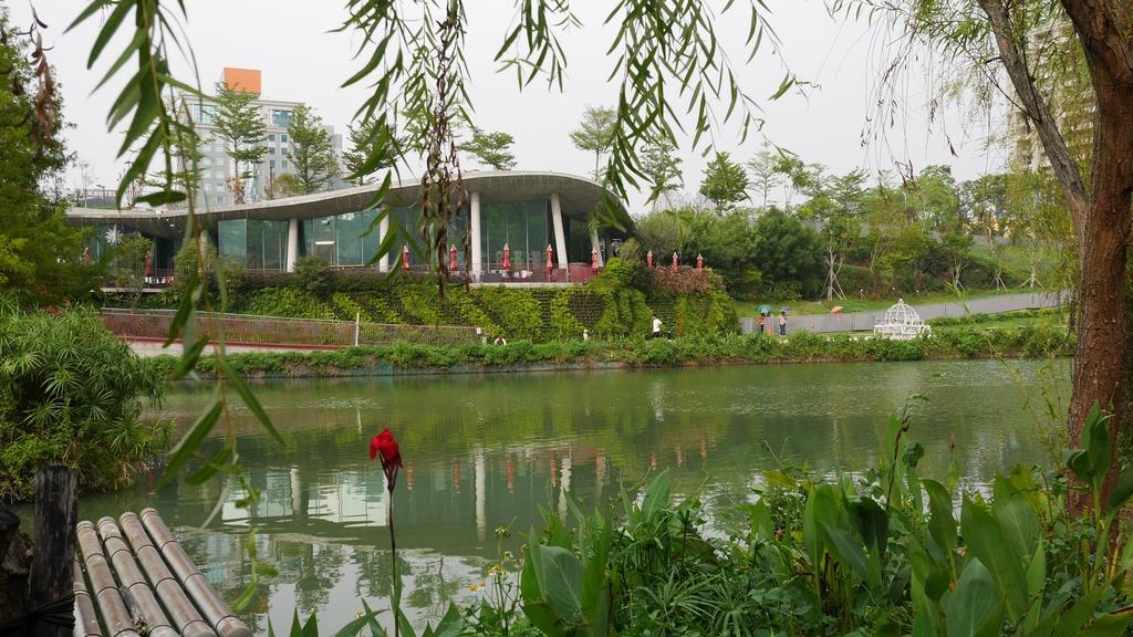 台中秋紅谷:秋紅谷生態公園