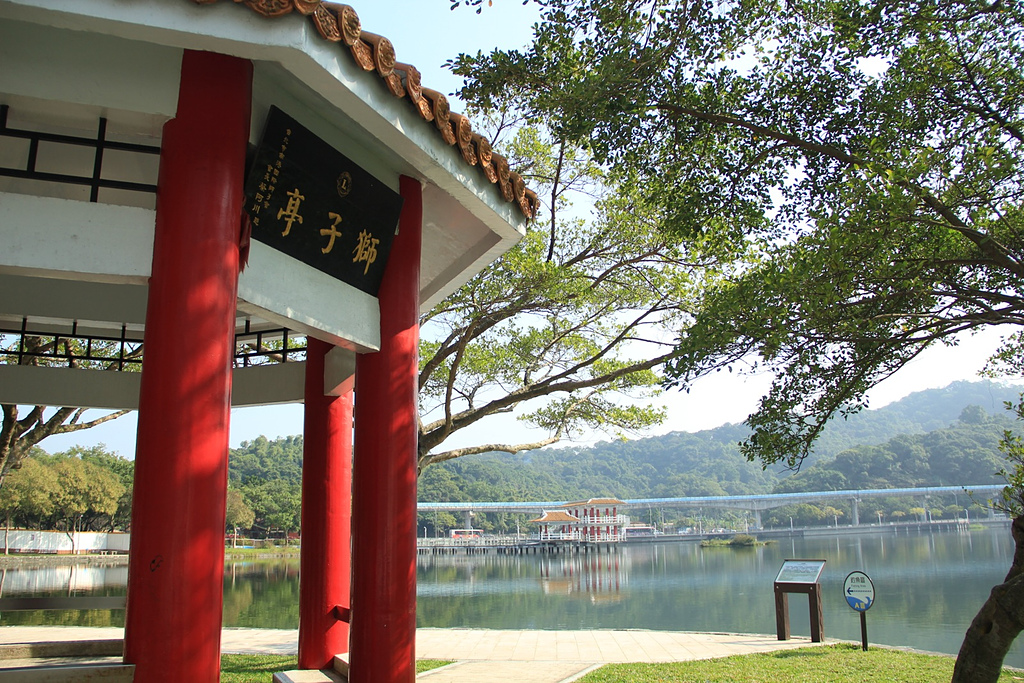 白鷺絲山/大湖公園/明舉山:大湖公園獅子亭