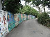 八卦台地基點巡禮:同安國小外的彩繪圍牆