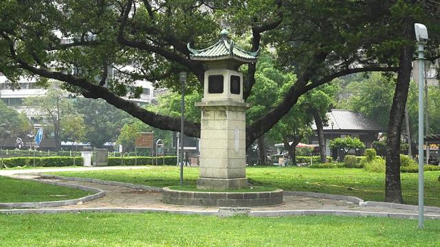 36放送頭1.jpg - 台中公園 砲台山