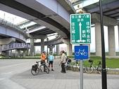 大漢溪河濱單車道:重翠橋下--重要的單車路口