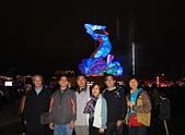 2013台灣燈會在新竹:主燈前合影