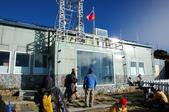 玉山群峰:位於玉山北峰的中央氣象局玉山測候站