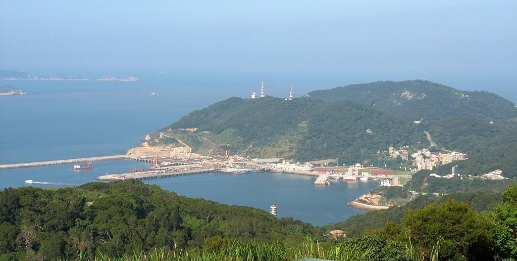 馬祖三日遊(四):從雲台山所見的福澳港