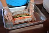 手作壽司示範:手作壽司2