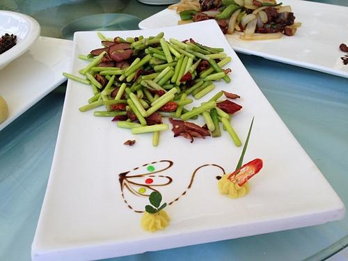 06九寨餐盤裝飾1.jpg - 絕美黃龍賽瑤池