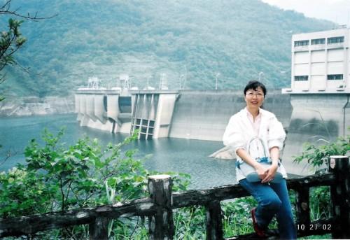 翡翠水庫的山光水色:翡翠大壩2