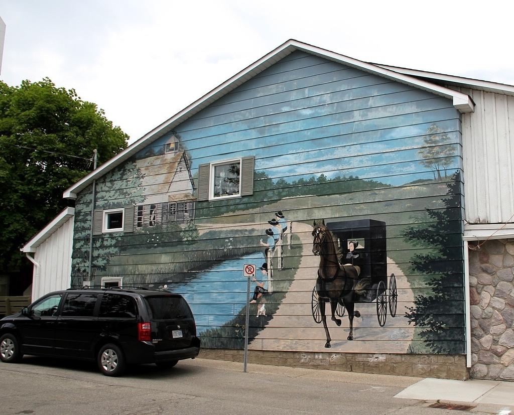 St. Jacobs Farmer's Market:Amish小鎮的傳統與現代