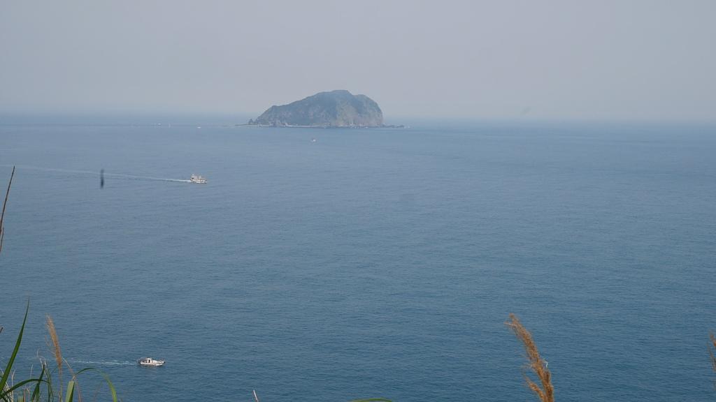 七斗山遠眺基隆嶼 - 潮境公園 望幽谷