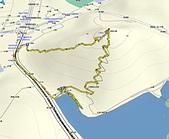 大湖公園白鷺鷥山:白鷺鷥山航跡圖