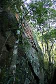 小百岳都蘭山:大石壁3