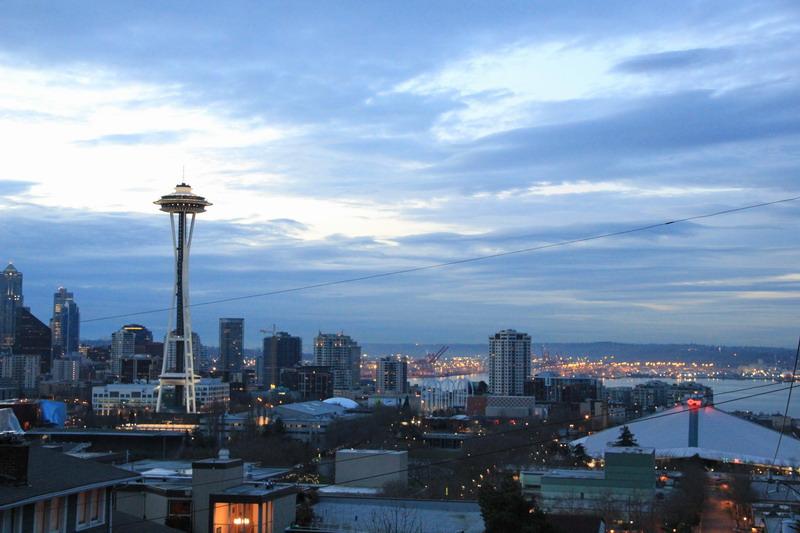 西雅圖行腳:稍爬高點所見的太空針