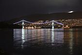 加國風光:獅門橋夜景