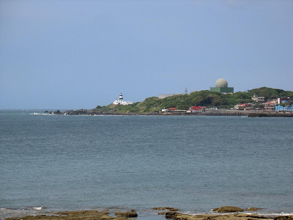 北海岸淡水到石門:29富貴角燈塔與空軍雷達站
