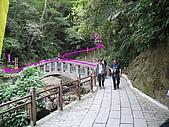 三角崙山 五峰旗瀑布:瀑布區入口