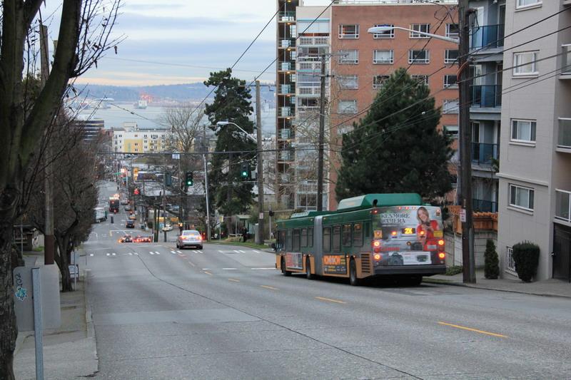 西雅圖行腳:急陡坡是西雅圖街道特色