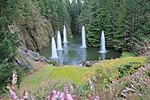 布查花園(Butchart Gardens):開園60週年闢建的羅斯噴泉