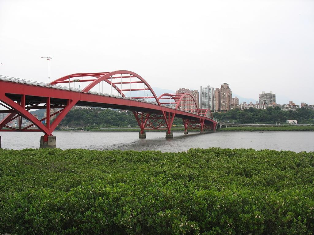 淡水河左右岸單車行:24關渡大橋.jpg