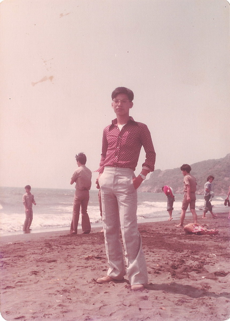 旗津海水浴場3 (1977) - 旗鼓相當 西子夕陽